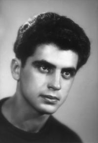 Jiří Stránský v roce 1950