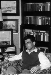 Jiří Stránský v roce 1960