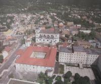 Centralizační klášter v Bohosudově kam byli deportovány sestry s Kongregace Milosrdných sester sv. Kříže