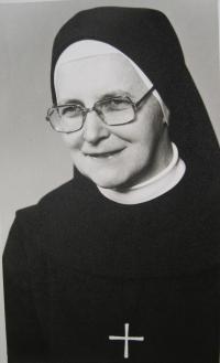 Sestra Pavla Křivánková v roce 1980