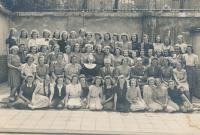 V primě reálného gymnázia, 1938