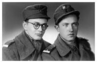 Vladimír Brouček na vojně (1945 - 1946)