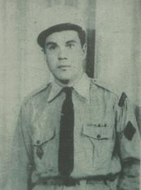 Jaroslav Čermák in 50s