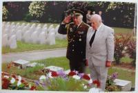 Jaroslav Čermák on Veterans ceremony