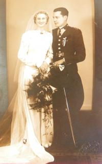 svatební foto Luisa Matlová a Antonín Matl