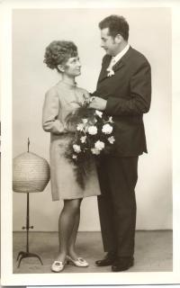Svoboda's wedding day