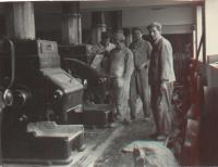 In a mill in Zidenice