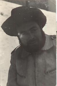 mlynář Antonín Svoboda za mlada