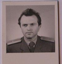 Vratislav Herold - photo from his personal file in StB