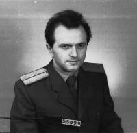 Vratislav Herold - photo from archive materials of communist secret police in 1950s