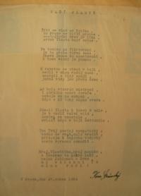Poem For Our Vlasta