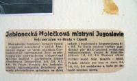 Mistryní Jugoslávie