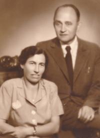 rodiče Františka Suchého 1950