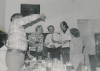 1987 oslava 60. narozenin pamětníka