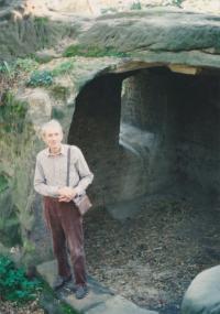 1993 František Suchý v Drábských světničkách