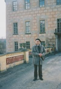 František Suchý 1998 v Bechyni