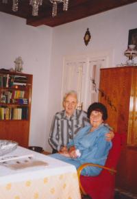 2004 František Suchý se ženou