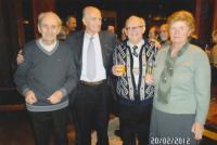 2012 Konfederace politických vězňů M. Růžička, J. Matoušková, K. Kovařík