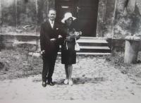 Jan Velík s manželkou Bohumilou