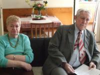 Pavel Macháček a Božena v roce 2008