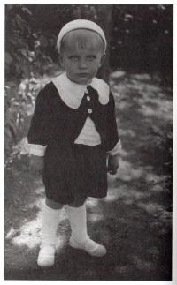 Jaroslav Med ve dvou letech
