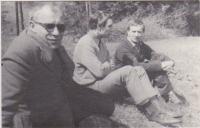 S Ivanem Divošem a Jaroslavem Šerých