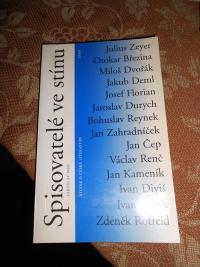 Kniha Spisovatelé ve stínu od Jaroslava Meda