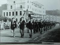 pochod československých veteránů v Doveru - 1990 ??