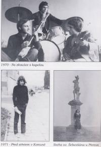 Dobová fotografie z knihy o Vladimíru Hučínovi I