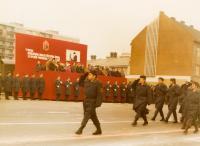 """Přerov, budova """"Komuna"""", kde byl v roce 1971 Hučín zbit komunisty"""