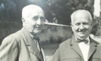 Brothers Josef and Antonín Hnátek