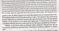 Excerpt from the book - describing A. Hnátek suffering in the Gestapo prison