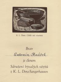 Commemorative document from Dora