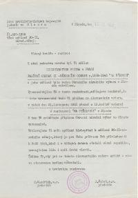 Pamětní odznak II. nár. odboje z list. 1952
