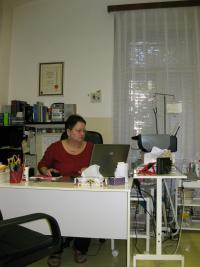K. Bittmanová v ordinaci