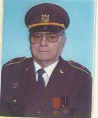 Alois Kubiš v armádní uniformě
