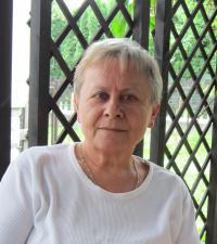 Slavěna Eliášová v roce 2012