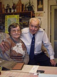 Antonín Bosák s manželkou