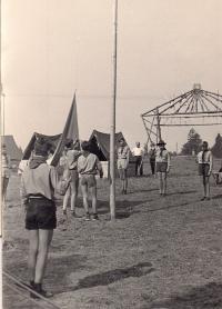 Tábor na Otavě u Štědronína