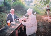 Bratři Alios a Jan Čočkovi, kteří byli také uvězněni za napojení na protikomunistický odboj