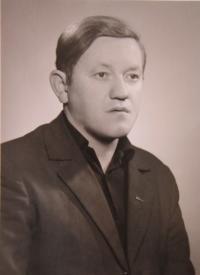 Josef Čoček po propuštění z vězení v roce 1936