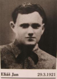 Jan Eliáš, jeden ze spolužáků Jana Jančího, který byl 5. května 1945 zavražděn Lüdemannovým komandem