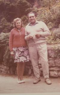 Jan Jančí s manželkou Zdeňkou