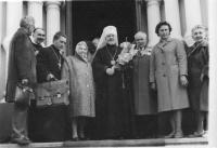 o. Jan Křivka a metropolita Dorotej - farnost Františkovy Lázně