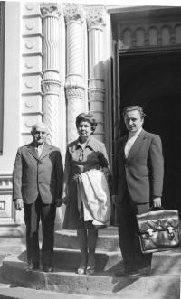 o. Jan Křivka s manželkou Boženou