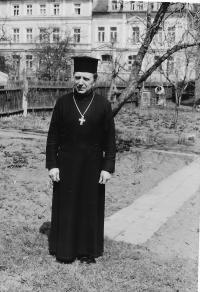 Pravoslavný duchovní o. Jan Křivka