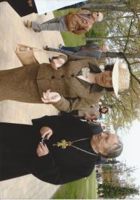 o. Jan Křivka s dcerou Libuší
