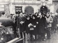 Funeral of Jan Palach, 1969