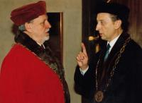 S rektorem UK
