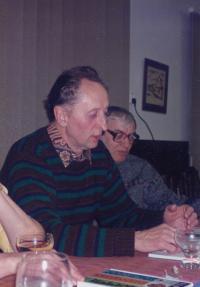 With Láďa Hejdánek